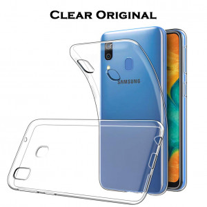 TPU чехол Clear Original для Samsung Galaxy A20 / A30