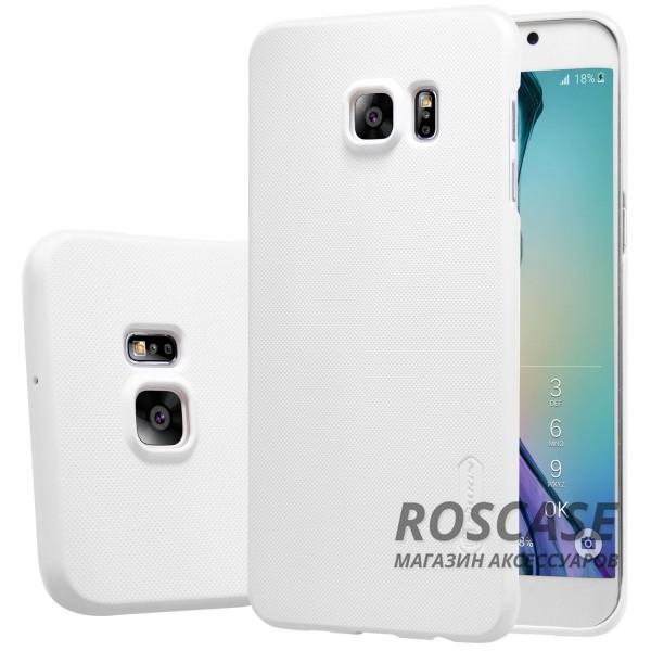 Чехол Nillkin Matte для Samsung Galaxy S6 Edge Plus (+ пленка) (Белый)Описание:производитель -&amp;nbsp;Nillkin;материал - поликарбонат;совместим с Samsung Galaxy S6 Edge Plus;тип - накладка.&amp;nbsp;Особенности:матовый;прочный;тонкий дизайн;не скользит в руках;не выцветает;пленка в комплекте.<br><br>Тип: Чехол<br>Бренд: Nillkin<br>Материал: Поликарбонат