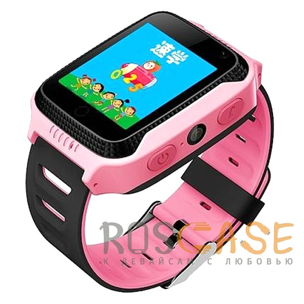 Фотография Розовый Умные детские часы Smart Baby Watch T7