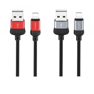 Borofone BX28 | Кабель USB Lightning 8 Pin для iPhone, iPad 3A 1м