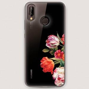 RosCase | Силиконовый чехол Весенний букет на Huawei Nova 3