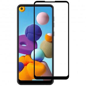 Защитное стекло 5D Full Cover  для Samsung Galaxy A21s