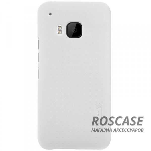 Чехол Nillkin Matte для HTC One / M9 (+ пленка) (Белый)Описание:производитель - компания&amp;nbsp;Nillkin;материал - поликарбонат;совместим с HTC One / M9;тип - накладка.&amp;nbsp;Особенности:матовый;прочный;тонкий дизайн;не скользит в руках;не выцветает;пленка в комплекте.<br><br>Тип: Чехол<br>Бренд: Nillkin<br>Материал: Поликарбонат