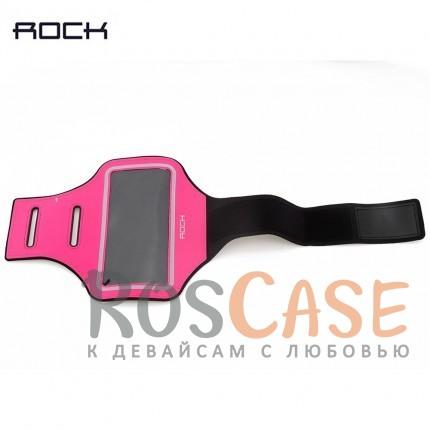 Неопреновый спортивный чехол на руку Rock Sports Armband (B) для Apple iPhone 6 plus (5.5)  / 6s plus (5.5) (Розовый  / Rose red)Описание:бренд&amp;nbsp;Rockсовместимость - Apple iPhone 6 plus (5.5)  / 6s plus (5.5);материал - неопрен;тип  -  чехол на руку.&amp;nbsp;Особенности:водоотталкивающий материал;прошит по периметру;компактный;защита от царапин;кармашки для мелочей;не пропускает влагу;крепится на руку.<br><br>Тип: Чехол<br>Бренд: ROCK<br>Материал: Неопрен