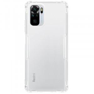 Nillkin Nature   Прозрачный силиконовый чехол  для Xiaomi Redmi Note 10
