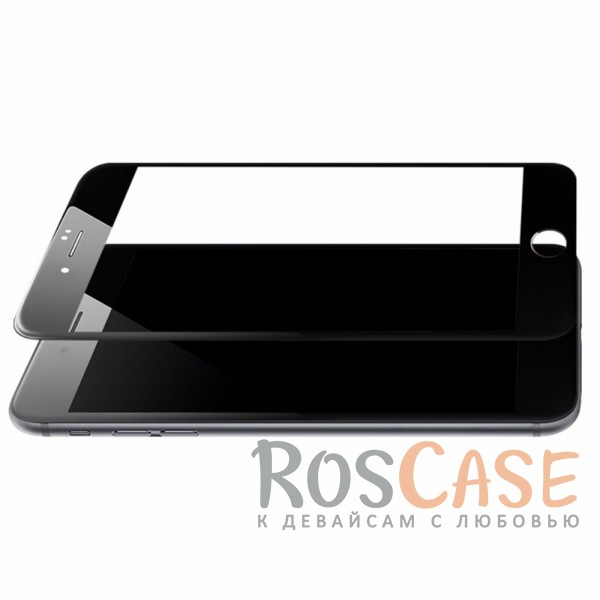 фото Черный Защитное стекло ROCK Tempered (3D) Glass Soft Edge series для Apple iPhone 7 plus (5.5