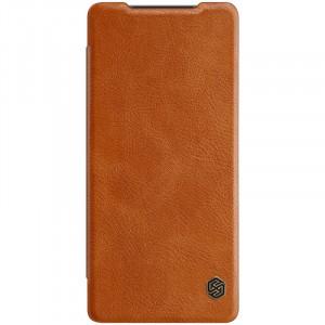 Nillkin Qin | Чехол-книжка из Premium экокожи  для Samsung Galaxy Note 20