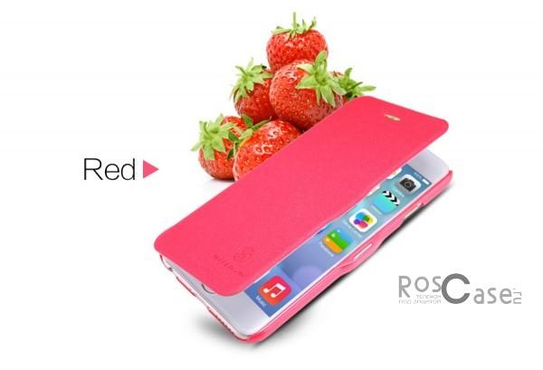 Кожаный чехол (книжка) Nillkin Fresh Series для Apple iPhone 6/6s plus (5.5) (Красный)Описание:Изготовлен компанией&amp;nbsp;Nillkin;Спроектирован персонально для&amp;nbsp;Apple iPhone 6/6s plus (5.5);Материал: синтетическая высококачественная кожа и полиуретан;Форма: чехол в виде книжки.Особенности:Исключается появление царапин и возникновение потертостей;Восхитительная амортизация при любом ударе;Фактурная поверхность;Не подвержен деформации;Непритязателен в уходе.<br><br>Тип: Чехол<br>Бренд: Nillkin<br>Материал: Искусственная кожа