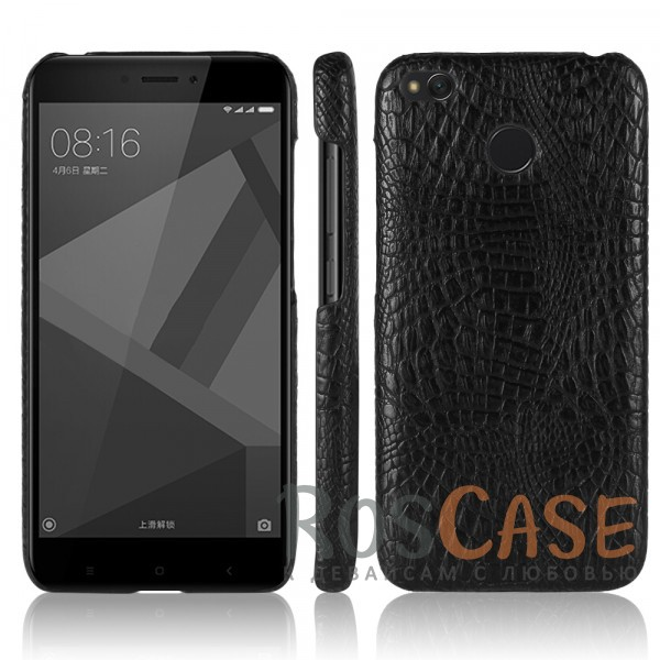 Стильный защитный чехол-накладка с текстурой крокодиловой кожи для Xiaomi Redmi 4X (Черный)Описание:совместимость - Xiaomi Redmi 4X;тип - накладка;материал - искусственная кожа;защита задней панели и боковых граней;не скользит в руках;не заметны отпечатки пальцев;ультратонкий дизайн;фактурная поверхность с имитацией крокодиловой кожи;все необходимые функциональные вырезы.<br><br>Тип: Чехол<br>Бренд: Epik<br>Материал: Искусственная кожа