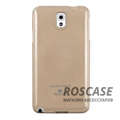 фото Золотой TPU чехол Mercury Jelly Color series для Samsung N9000/N9002 Galaxy Note 3