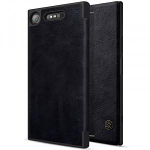Nillkin Qin натур. кожа | Чехол-книжка для Sony Xperia XZ1 / XZ1 Dual