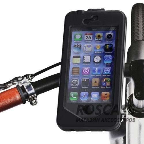 фото велосипедный пластиковый держатель для Apple iPhone 5/5S/5SE