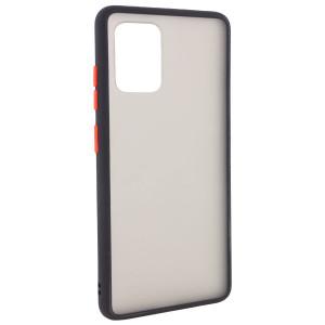 Противоударный матовый полупрозрачный чехол  для Samsung Galaxy S10 Lite (2020)