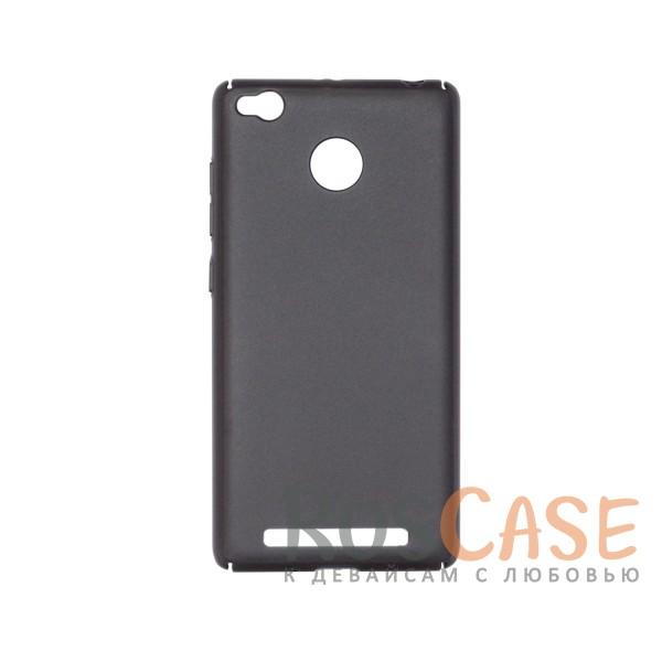 Матовая soft-touch накладка Joyroom из ударостойкого пластика с дополнительной защитой углов для Xiaomi Redmi 3 Pro / Redmi 3s (Черный)Описание:бренд - Joyroom;совместимость - Xiaomi Redmi 3 Pro / Redmi 3s&amp;nbsp;/ Redmi 3x;материал - пластик;тип - накладка.<br><br>Тип: Чехол<br>Бренд: Epik<br>Материал: Пластик