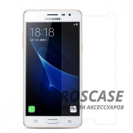 Защитное стекло Ultra Tempered Glass 0.33mm (H+) для Samsung J310 Galaxy J3 Pro (в упаковке)Описание:совместимо с устройством Samsung J310 Galaxy J3 Pro;материал: закаленное стекло;тип: защитное стекло на экран.&amp;nbsp;Особенности:закругленные&amp;nbsp;грани стекла обеспечивают лучшую фиксацию на экране;стекло очень тонкое - 0,33 мм;отзыв сенсорных кнопок сохраняется;стекло не искажает картинку, так как абсолютно прозрачное;выдерживает удары и защищает от царапин;размеры и вырезы стекла соответствуют особенностям дисплея.<br><br>Тип: Защитное стекло<br>Бренд: Epik