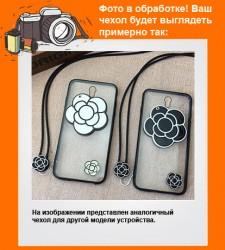Чехол для Xiaomi Redmi 3 Pro / Redmi 3s со встроенным зеркалом и длинным шнурком на шею