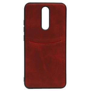 ILEVEL | Чехол с кожаным покрытием и карманом  для Xiaomi Redmi 8A