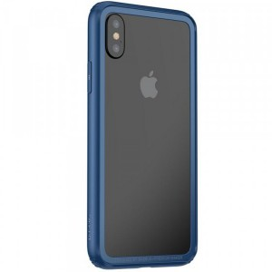"Baseus Hard And Soft | Двухслойный бампер для Apple iPhone X (5.8"")/XS (5.8"") из пластика и силикона"