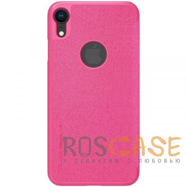 "Фотография Розовый Nillkin Sparkle | Чехол-книжка для Apple iPhone XR (6.1"")"