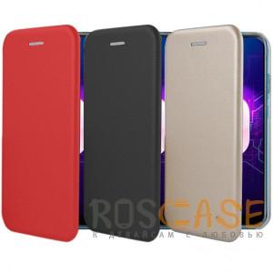 Open Color | Чехол-книжка для Huawei Nova 4 с функцией подставки и магнитом