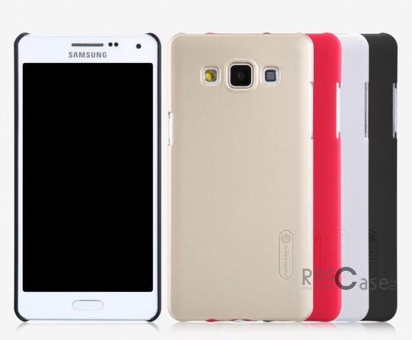 Чехол Nillkin Matte для Samsung A500H / A500F Galaxy A5 (+ пленка)Описание:Чехол изготовлен компанией&amp;nbsp;Nillkin;Спроектирован для Samsung A500H / A500F Galaxy A5;Материал  -  пластик;Форма  -  накладка.Особенности:Полностью защищен от появления потертостей;В комплект входит глянцевая пленка;Имеет ребристое матовое покрытие и антикислотное напыление;Тонкий дизайн.<br><br>Тип: Чехол<br>Бренд: Nillkin<br>Материал: Поликарбонат