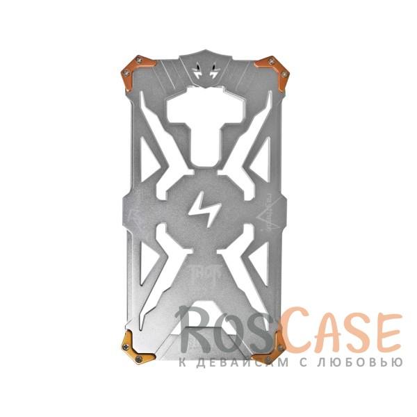 Противоударный чехол из авиационного алюминия на винтах Thor для Meizu MX6 (Серебряный)<br><br>Тип: Чехол<br>Бренд: Epik<br>Материал: Металл