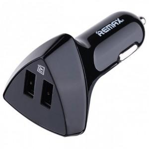 REMAX RCC208 Aliens | Автомобильное зарядное устройство на 2USB с дисплеем напряжения (3.4A)