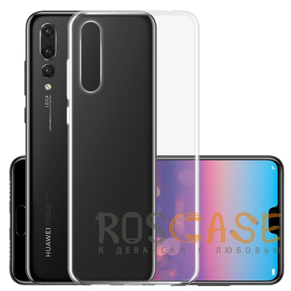 Фото Прозрачный J-Case THIN | Гибкий силиконовый чехол для Huawei P20 Pro