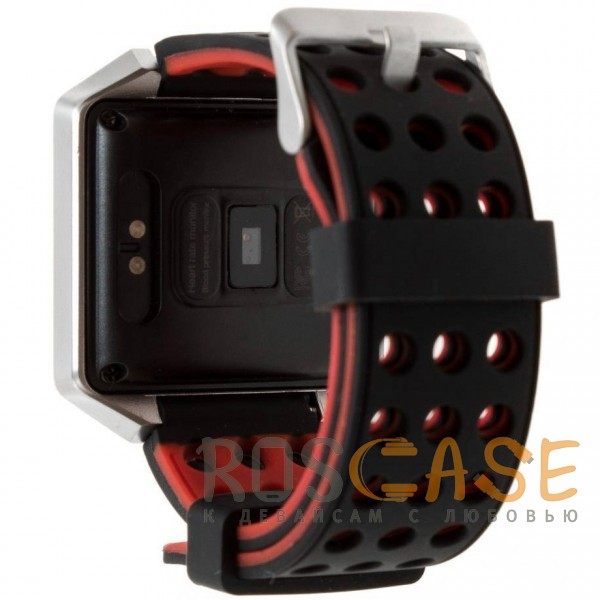 Фотография Черный / Красный Часы CK12 Pro с измерением давления и пульса