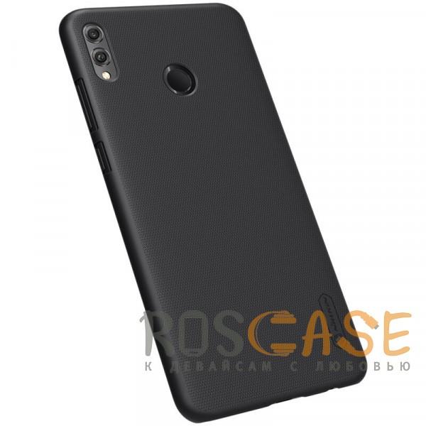 Изображение Черный Nillkin Super Frosted Shield | Матовый чехол для Huawei Honor 8X