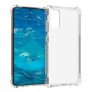 King Kong | Противоударный прозрачный чехол для Samsung Galaxy S20 FE (Fan Edition) с защитой углов