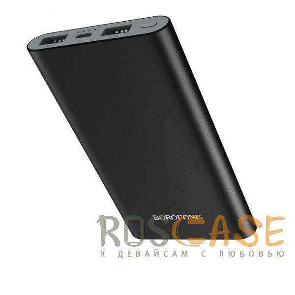 Фото Черный Внешний аккумулятор для телефона Power Bank Borofone BT19A (метал) 10000mAh