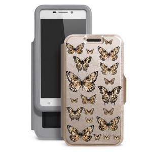 "Gresso ""Бабочка"" |  чехол-книжка с принтом для Huawei Honor 6C Pro"