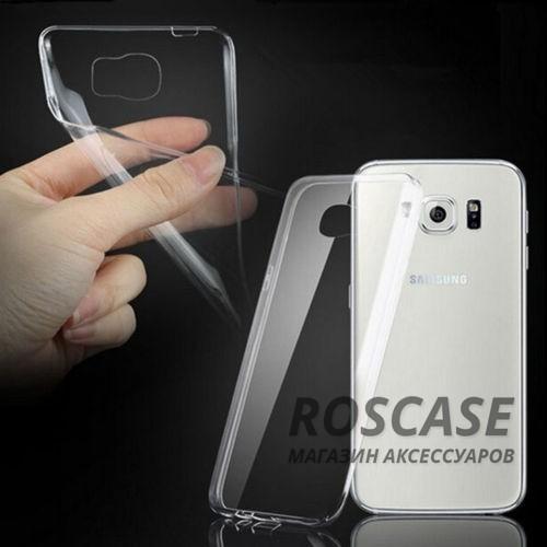 TPU чехол Ultrathin Series 0,33mm для Samsung G925F Galaxy S6 Edge (Бесцветный (прозрачный))Описание:бренд:&amp;nbsp;Epik;совместим с Samsung G925F Galaxy S6 Edge;материал: термополиуретан;тип: накладка.&amp;nbsp;Особенности:ультратонкий дизайн - 0,33 мм;прозрачный;эластичный и гибкий;надежно фиксируется;все функциональные вырезы в наличии.<br><br>Тип: Чехол<br>Бренд: Epik<br>Материал: TPU