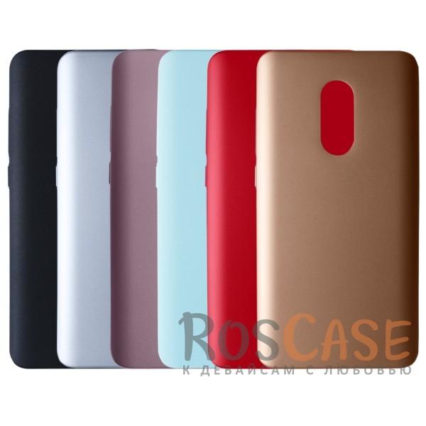 Пластиковая накладка soft-touch с защитой торцов Joyroom для Xiaomi Redmi Note 4<br><br>Тип: Чехол<br>Бренд: Epik<br>Материал: Пластик