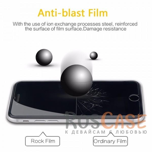 """Изображение Закаленное защитное стекло ROCK на экран с закругленными гранями и олеофобным покрытием """"анти-отпечатки"""" для Apple iPhone 7 / 8 (4.7"""")"""