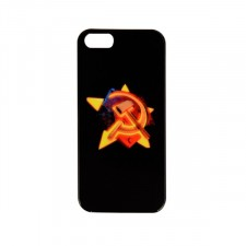 """Оригинальный чехол """"Серп и молот"""" для Apple iPhone 5/5S/SE"""