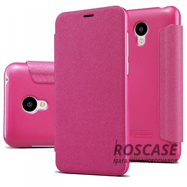 Кожаный чехол (книжка) Nillkin Sparkle Series для Meizu M2 / M2 mini (Розовый)Описание:бренд -&amp;nbsp;Nillkin;совместим с Meizu M2 / M2 mini;материал - кожзам;тип: книжка.&amp;nbsp;Особенности:в наличии функциональные вырезы;тонкий дизайн;блестящая поверхность;защита со всех сторон.<br><br>Тип: Чехол<br>Бренд: Nillkin<br>Материал: Искусственная кожа