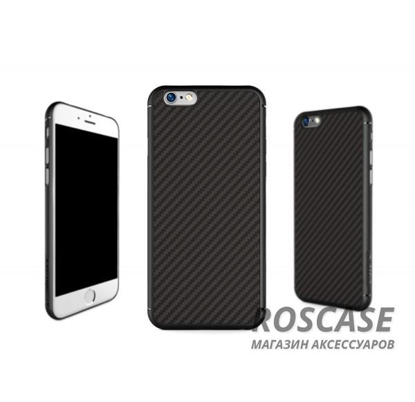 Пластиковая накладка Nillkin Synthetic Fiber series для Apple iPhone 6/6s (4.7)Описание:производство бренда&amp;nbsp;Nillkin;разработано специально для Apple iPhone 6/6s (4.7);материал: карбон;тип: накладка.&amp;nbsp;Особенности:все функциональные вырезы имеются;прочный и износостойкий;не ухудшает качество сигнала;на нем не заметны отпечатки пальцев;не деформируется.<br><br>Тип: Чехол<br>Бренд: Nillkin<br>Материал: Пластик