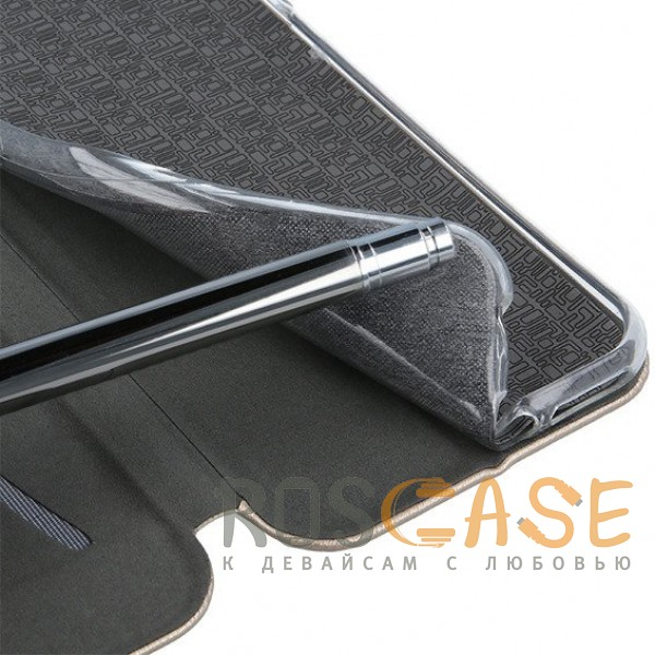 Open Color | Чехол-книжка для Xiaomi Mi 8 SE с функцией подставки и магнитом (Золотой), , Чехлы