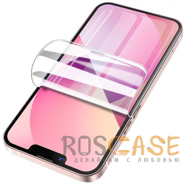 Фото Прозрачная Гидрогелевая защитная пленка Rock для iPhone 13 Mini