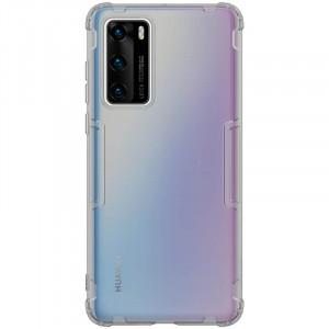 Nillkin Nature | Прозрачный силиконовый чехол  для Huawei P40