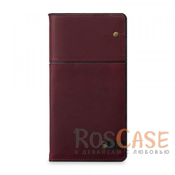 Кожаный чехол-книжка STIL Toscano Wine Series для Apple iPhone 7 plus (5.5) (+ карманы для визиток) (Бордовый / Burgundy Red)Описание:производитель&amp;nbsp;STIL;совместимость с Apple iPhone 7 plus (5.5);материалы - натуральная кожа, синтетическая кожа, пластик;тип - чехол-книжка.<br><br>Тип: Чехол<br>Бренд: Stil<br>Материал: Натуральная кожа