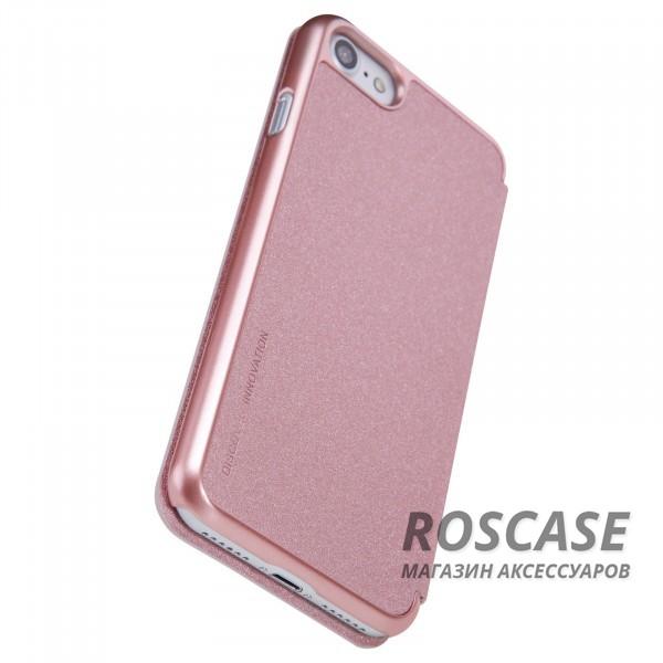"Фотография Розовый / Rose Gold Nillkin Sparkle | Чехол-книжка для Apple iPhone 7 / 8 (4.7"")"