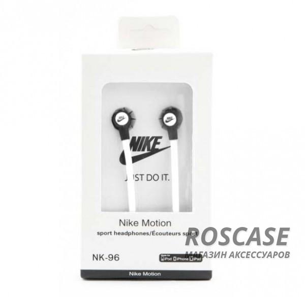 Фото Вакуумные наушники Nike NK-96 с плоским проводом
