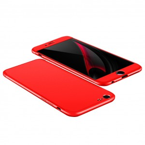 "GKK LikGus 360° | Двухсторонний чехол для Apple iPhone 7 (4.7"") с защитными вставками"