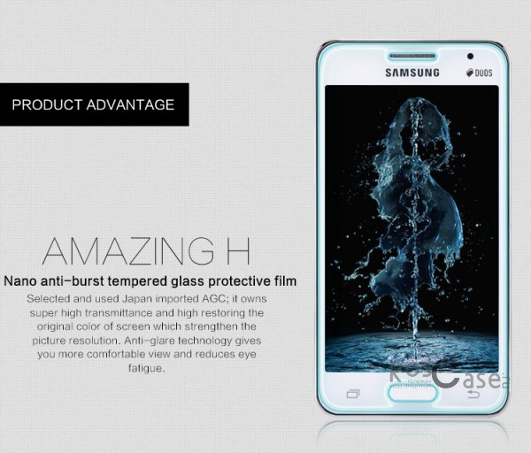 фото защитное стекло Nillkin Anti-Explosion Glass Screen (H) для Samsung G355 Galaxy Core 2