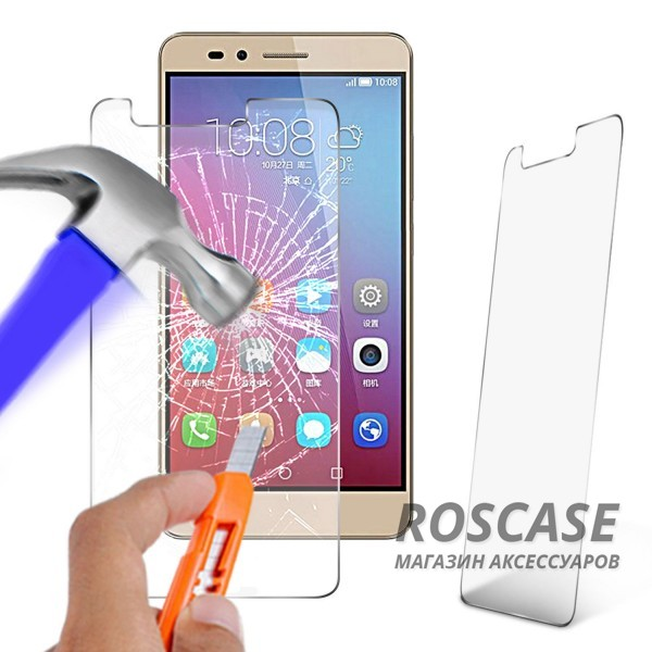 Защитное стекло Ultra Tempered Glass 0.33mm (H+) для Huawei Honor 5X / GR5 (картонная упаковка)Описание:бренд&amp;nbsp;Epik;совместимость Huawei Honor X5 / GR5;материал: закаленное стекло;тип: защитное стекло на экран.&amp;nbsp;Особенности:закругленные&amp;nbsp;грани;не влияет на чувствительность сенсора;легко очищается;толщина - &amp;nbsp;0,33 мм;абсолютно прозрачное;защита от царапин и ударов.<br><br>Тип: Защитное стекло<br>Бренд: Epik