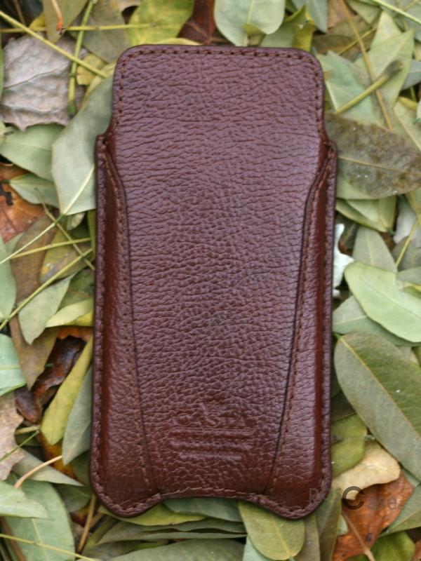 фото кожаный футляр Casta Premium для Apple iPhone 5/5S/5SE