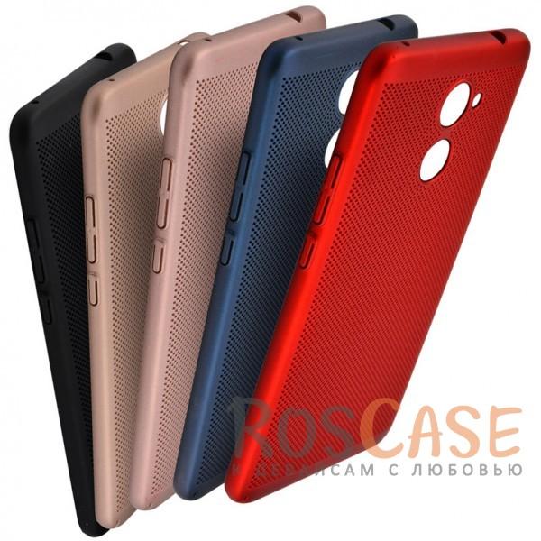 Пластиковый перфорированный чехол-накладка MOFI Air Series с защитой от перегрева для Huawei Y7 PrimeОписание:бренд - Mofi;материал - пластик;совместимость - Huawei Y7 Prime;перфорированная поверхность;защита от перегрева;предусмотрены все функциональные вырезы;не скользит в руках;формат - накладка.<br><br>Тип: Чехол<br>Бренд: Mofi<br>Материал: Пластик